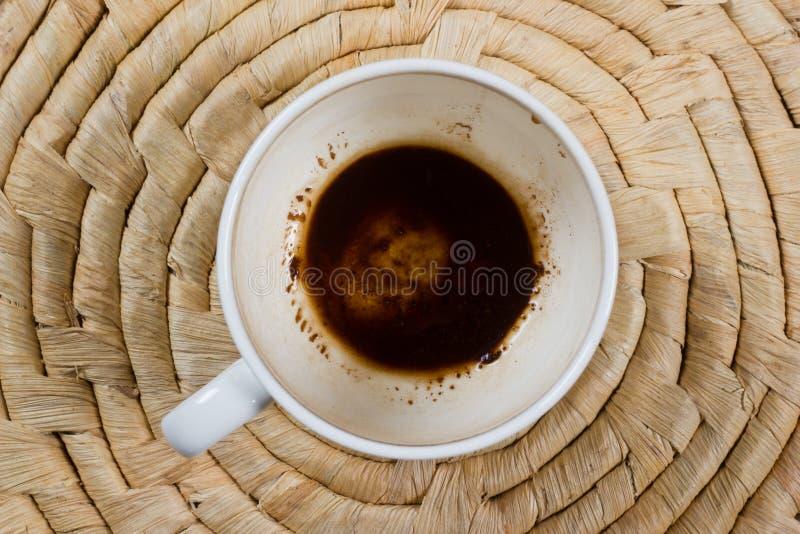 φλυτζάνι καφέ κενό στοκ εικόνες