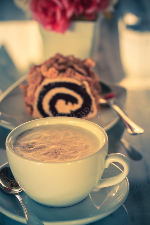 Φλυτζάνι καφέ Cappuccino στοκ φωτογραφίες με δικαίωμα ελεύθερης χρήσης