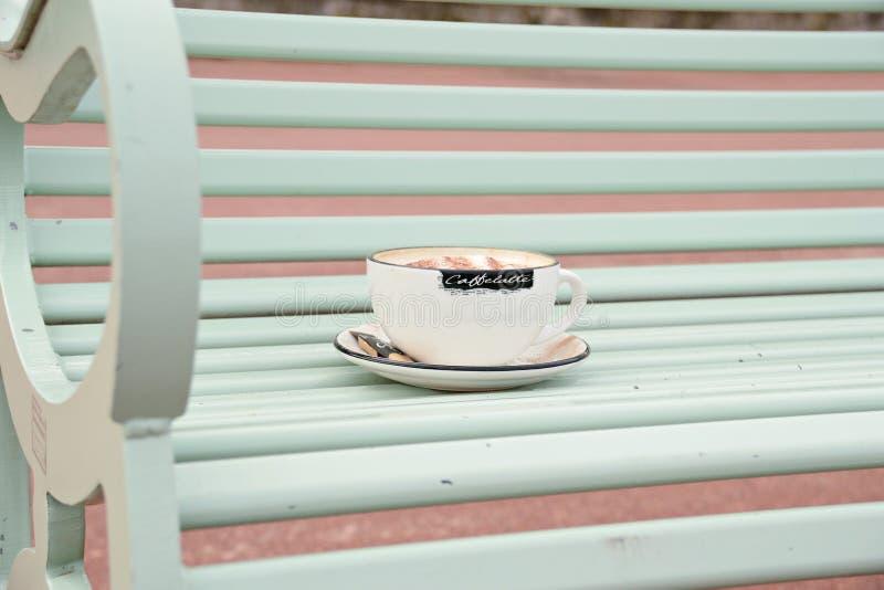 Φλυτζάνι του cappuccino στοκ φωτογραφία με δικαίωμα ελεύθερης χρήσης