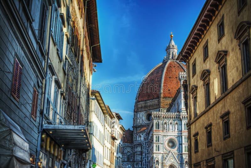 Φλωρεντία Duomo στο hdr στοκ φωτογραφίες με δικαίωμα ελεύθερης χρήσης