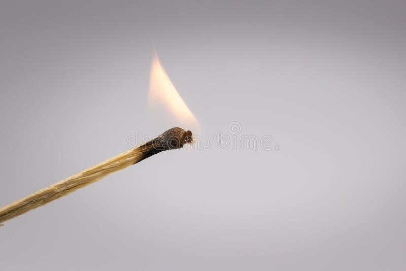 Φλόγα της αντιστοιχίας στοκ φωτογραφίες με δικαίωμα ελεύθερης χρήσης