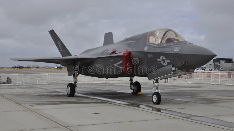 Φ-35 Miramar ο αέρας παρουσιάζει 2015 στοκ εικόνες