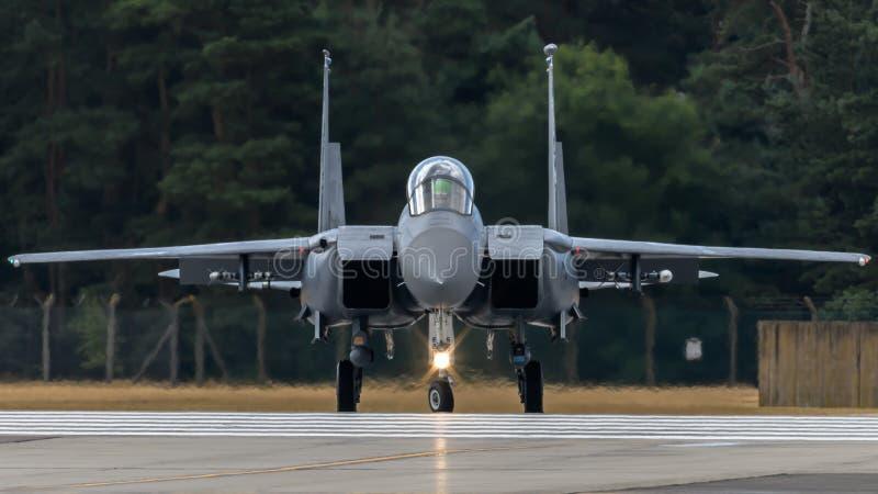 Φ-15 RAF Lakenheath στοκ φωτογραφία με δικαίωμα ελεύθερης χρήσης