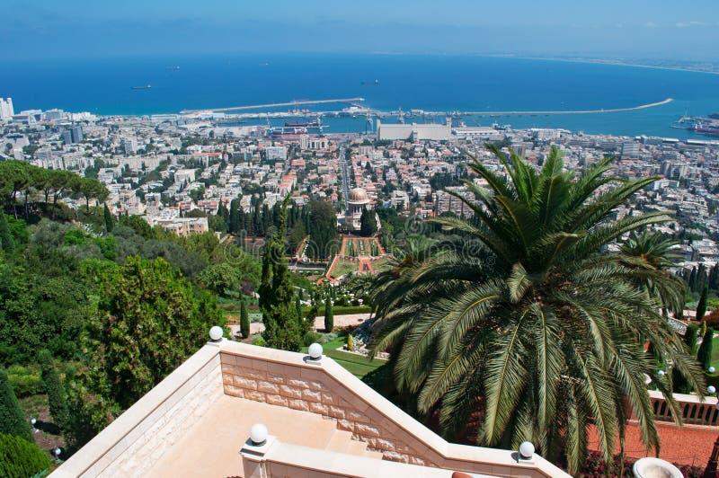 Χάιφα, Ισραήλ, Μέση Ανατολή στοκ εικόνες