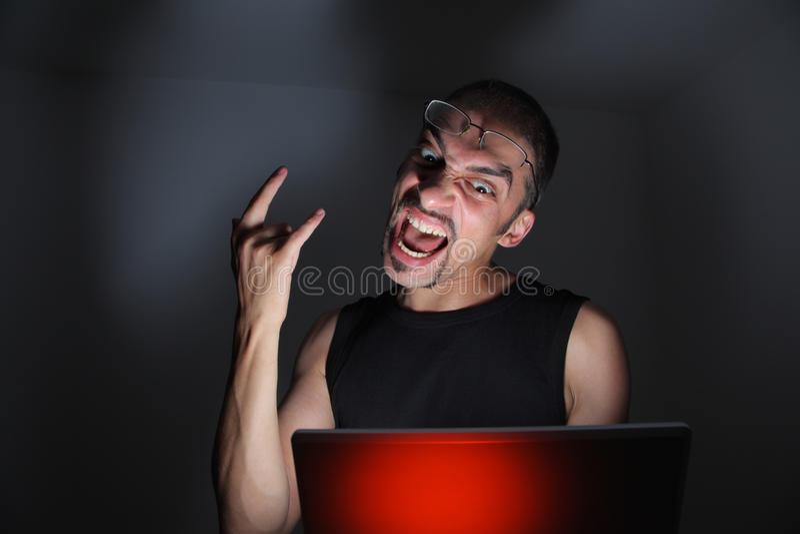 χάκερ στοκ φωτογραφίες