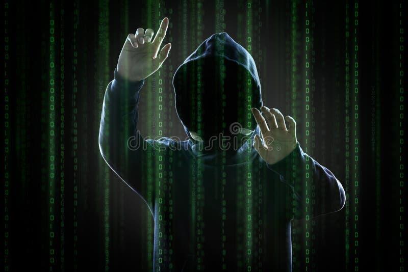 χάκερ ελεύθερη απεικόνιση δικαιώματος
