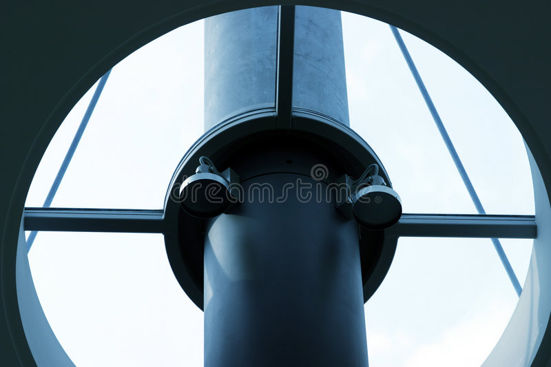 χάλυβας δοκών Στοκ φωτογραφία με δικαίωμα ελεύθερης χρήσης