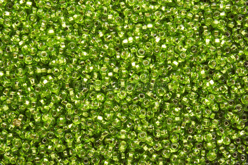 χάντρες πράσινες στοκ εικόνες
