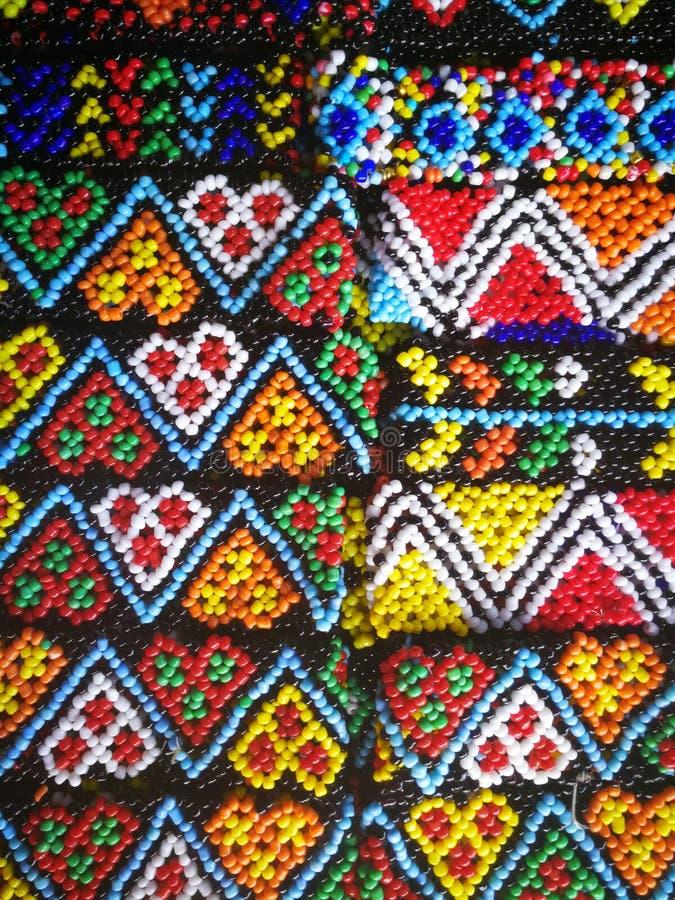 Χάντρες του Μπόρνεο στοκ φωτογραφία με δικαίωμα ελεύθερης χρήσης