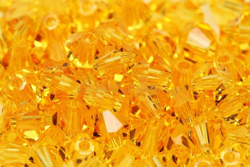 χάντρες χρυσές στοκ φωτογραφία με δικαίωμα ελεύθερης χρήσης