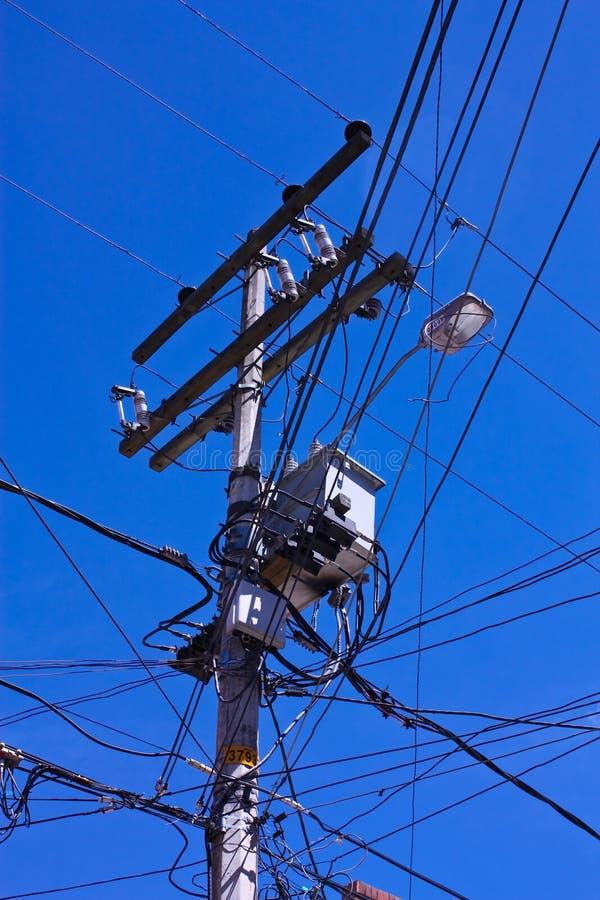 χάος ηλεκτρικό στοκ εικόνα με δικαίωμα ελεύθερης χρήσης