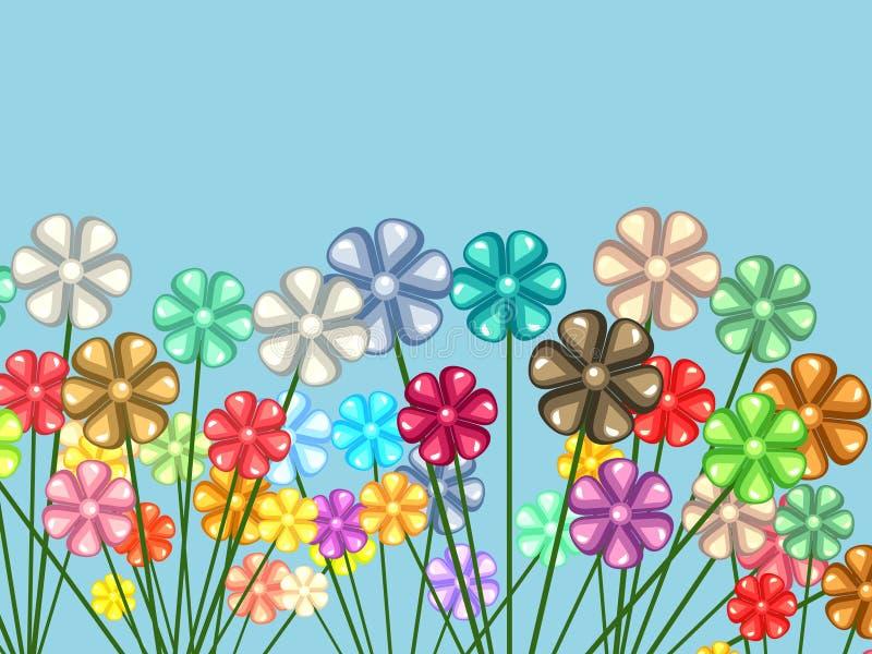 χάος floral διανυσματική απεικόνιση