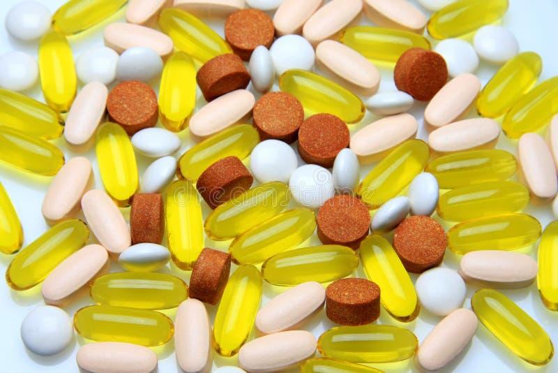 χάπια ιατρικής στοκ φωτογραφία