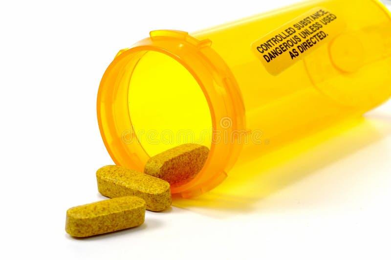 χάπια κίτρινα στοκ φωτογραφία με δικαίωμα ελεύθερης χρήσης
