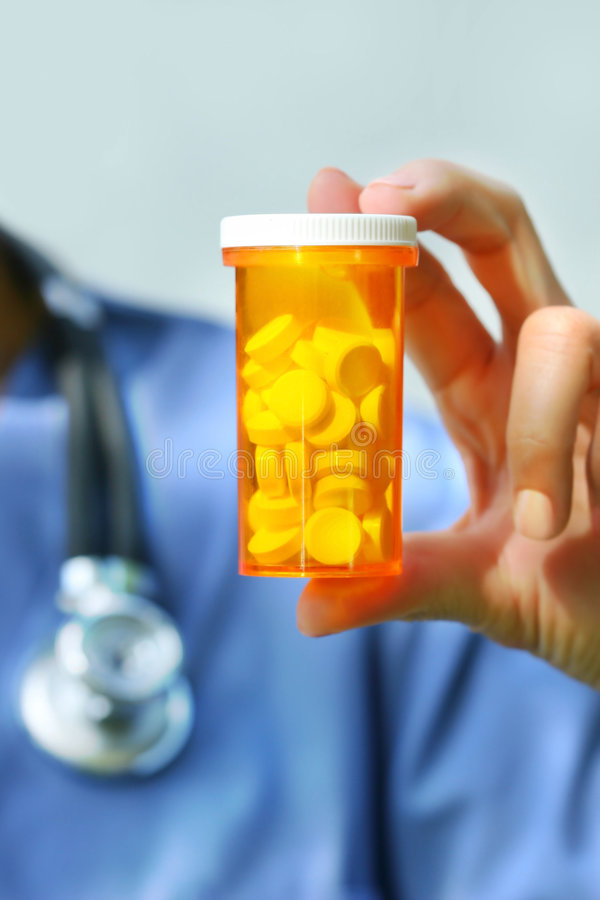 χάπια νοσοκόμων εκμετάλλ&e στοκ φωτογραφία με δικαίωμα ελεύθερης χρήσης
