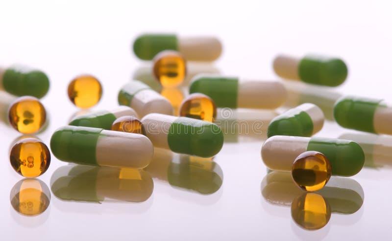 χάπια σωρών στοκ φωτογραφία με δικαίωμα ελεύθερης χρήσης