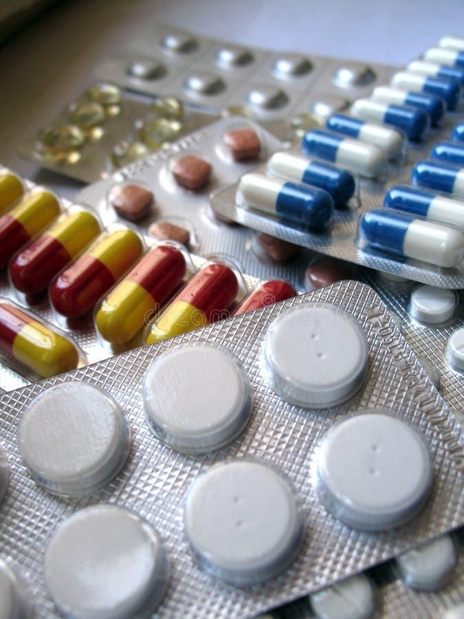 χάπια στοκ φωτογραφία