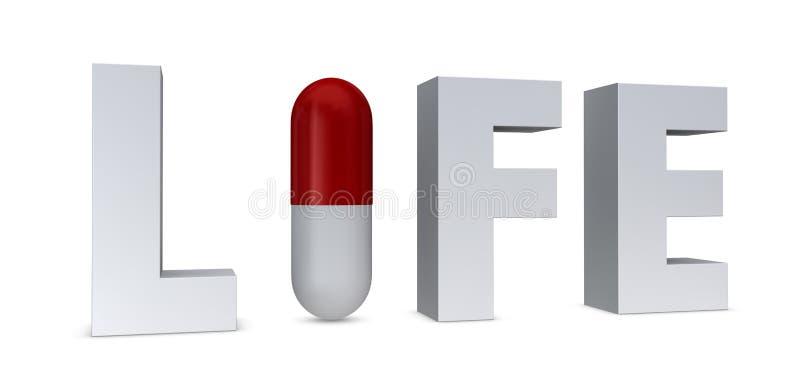 χάπι έννοιας απεικόνιση αποθεμάτων