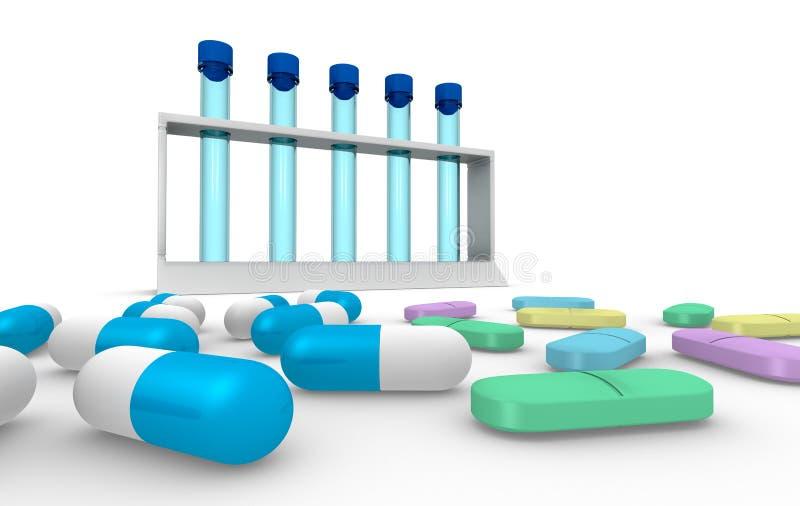χάπι έννοιας διανυσματική απεικόνιση