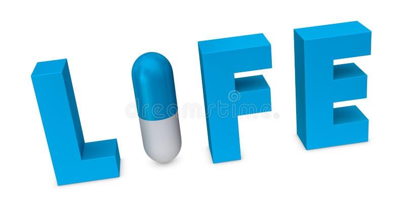 χάπι έννοιας ελεύθερη απεικόνιση δικαιώματος