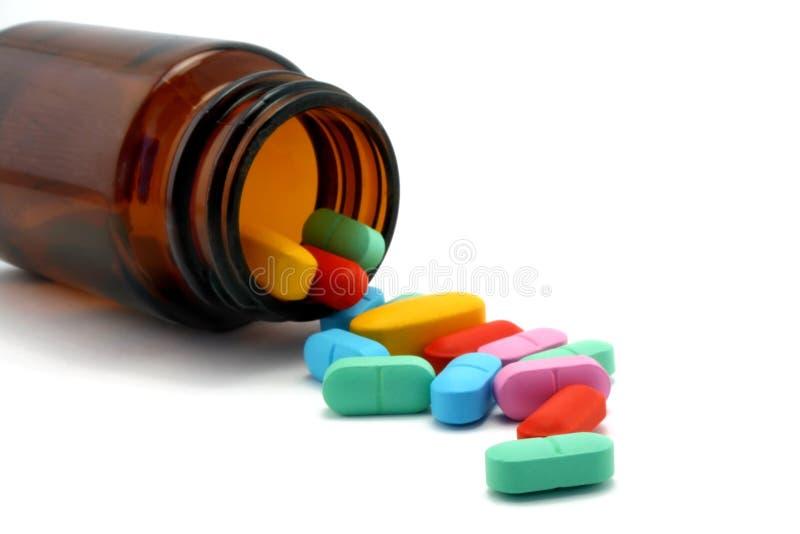 χάπι βάζων στοκ εικόνα