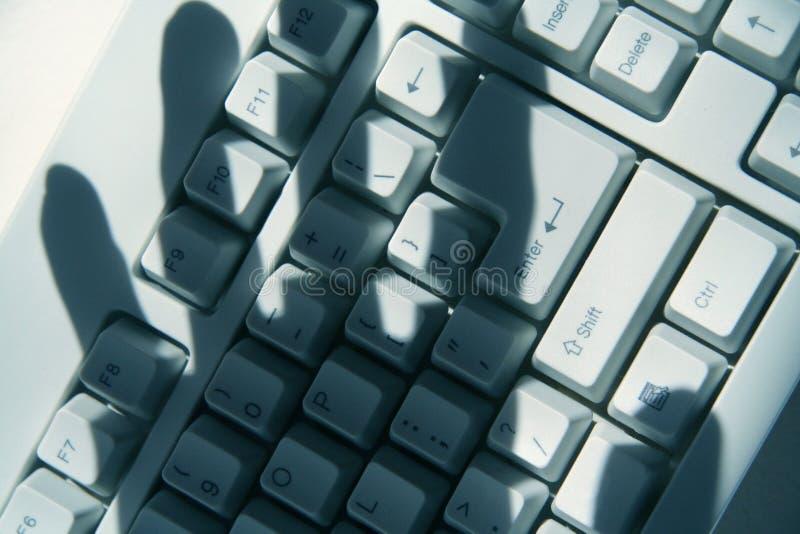 χάραξη υπολογιστών στοκ φωτογραφίες
