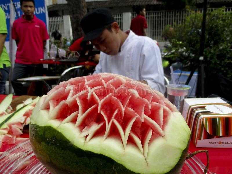 Χάραξη φρούτων στοκ εικόνες