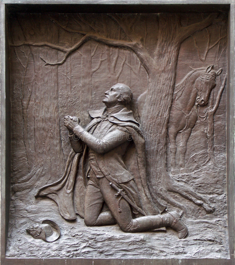 χάραξη George Ουάσιγκτον στοκ εικόνες με δικαίωμα ελεύθερης χρήσης