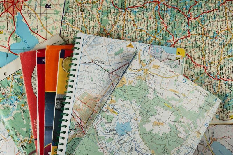χάρτες μερών στοκ φωτογραφία με δικαίωμα ελεύθερης χρήσης