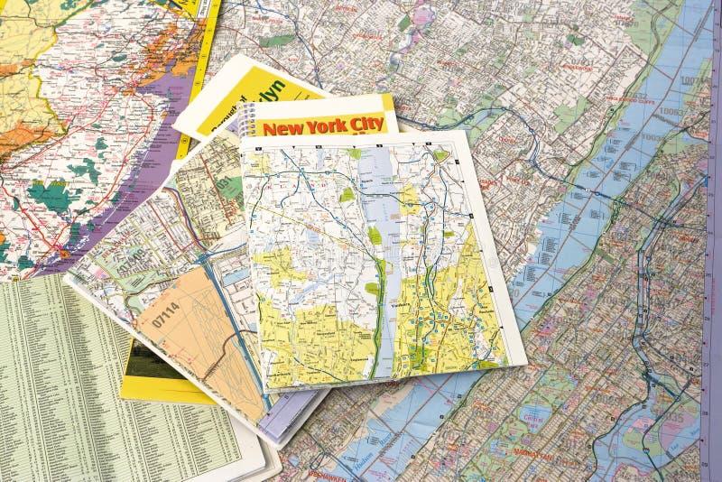 χάρτες στοκ φωτογραφία