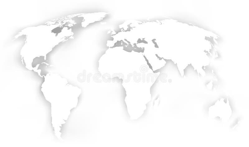 χάρτης ανασκόπησης απεικόνιση αποθεμάτων
