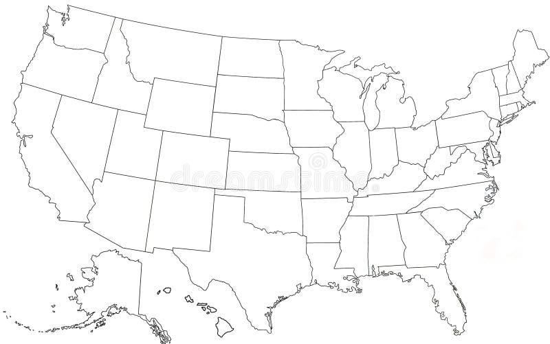 χάρτης ΗΠΑ