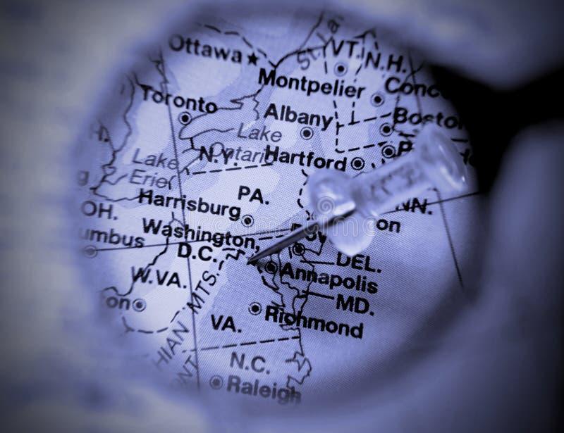 Download χάρτης Ουάσιγκτον στοκ εικόνα. εικόνα από ουάσιγκτον, σημάδι - 2226701
