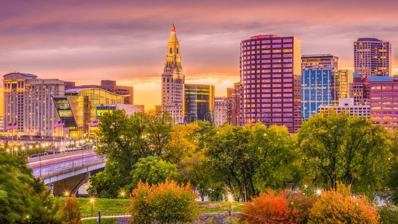 Χάρτφορντ, Κοννέκτικατ, ΗΠΑ στοκ φωτογραφία με δικαίωμα ελεύθερης χρήσης