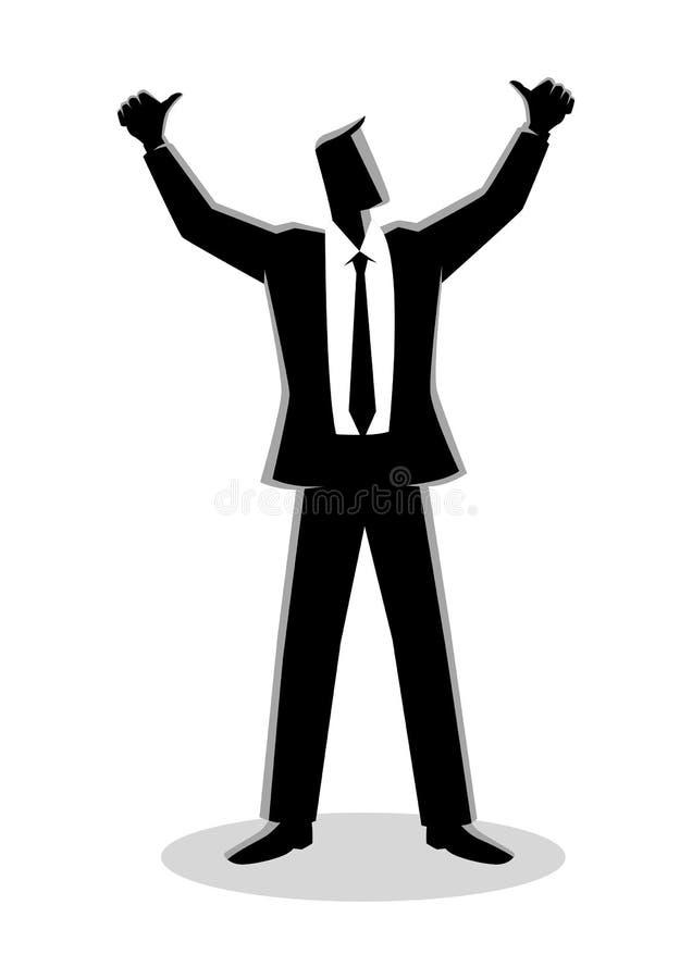 Χέρια επιχειρηματιών επάνω απεικόνιση αποθεμάτων