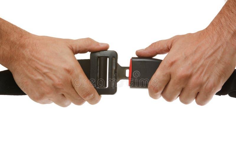 χέρια κουμπιών στοκ φωτογραφίες
