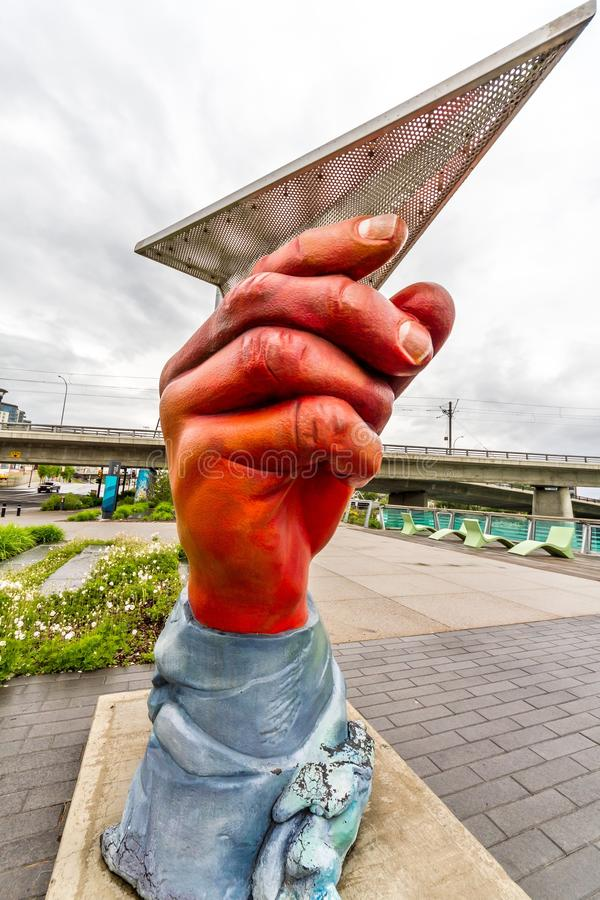 Χέρια σε ολόκληρη την Κοινότητα στοκ εικόνες με δικαίωμα ελεύθερης χρήσης