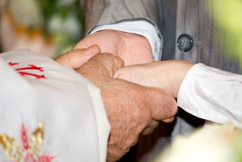 Ευλογία ιερέων στοκ εικόνες με δικαίωμα ελεύθερης χρήσης