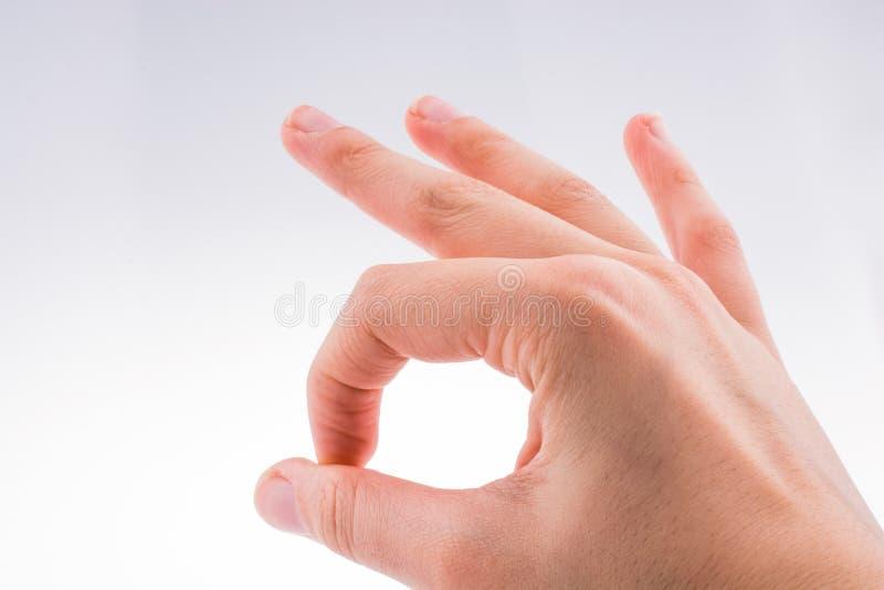 Χέρι ανοικτό για μια χειρονομία στοκ εικόνες με δικαίωμα ελεύθερης χρήσης