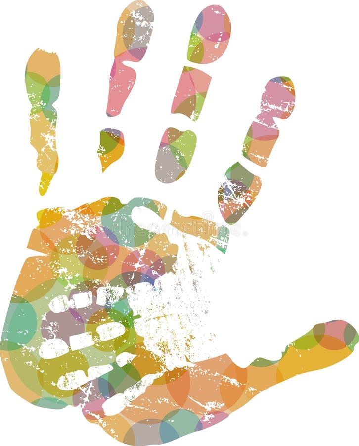 Χέρι βοηθείας, διανυσματική απεικόνιση ελεύθερη απεικόνιση δικαιώματος