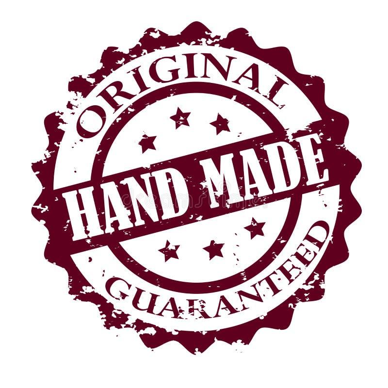 χέρι - γίνοντα γραμματόσημο διανυσματική απεικόνιση
