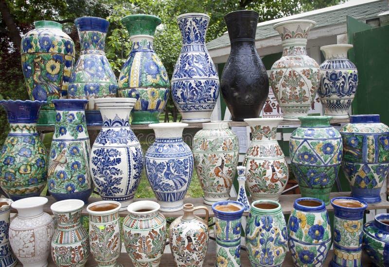 χέρι - γίνοντα παραδοσιακά vase στοκ φωτογραφία με δικαίωμα ελεύθερης χρήσης