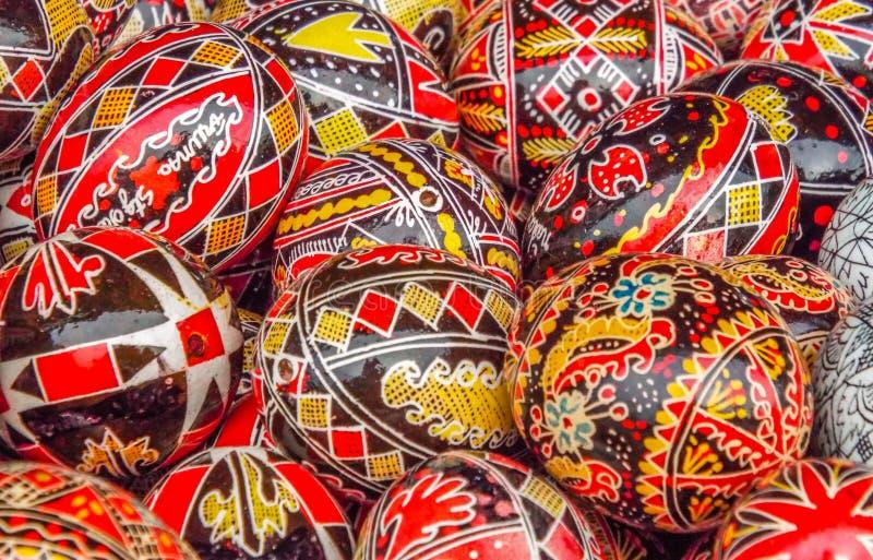Χέρι - γίνοντα ρουμανικό αντικείμενο στην παραδοσιακή έκθεση φθινοπώρου στοκ φωτογραφία