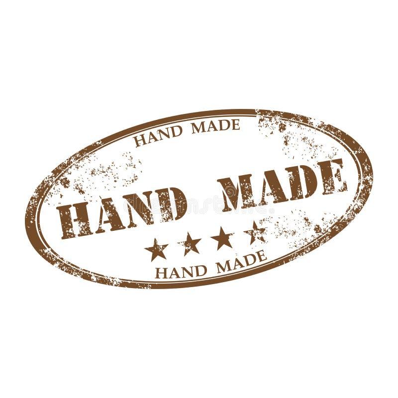 Χέρι - γίνοντη σφραγίδα ελεύθερη απεικόνιση δικαιώματος