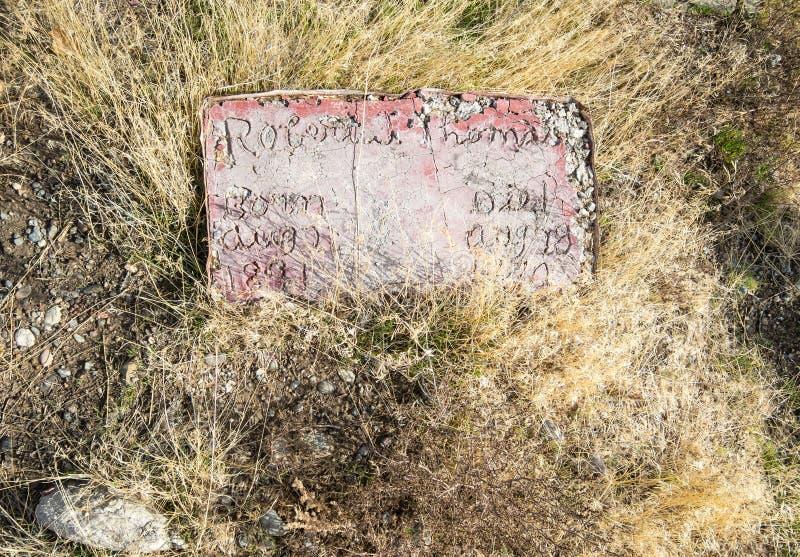 Χέρι - γίνοντη ταφόπετρα στοκ εικόνες με δικαίωμα ελεύθερης χρήσης