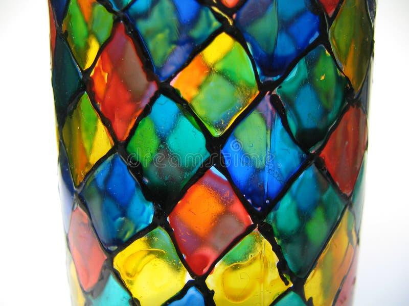χέρι γυαλιού που χρωματίζ& στοκ εικόνες