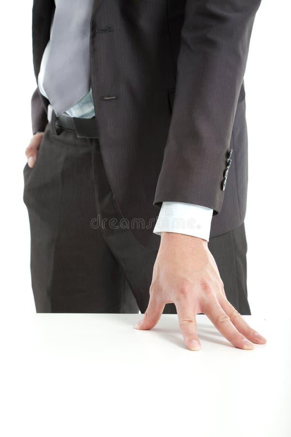 χέρι επιχειρηματιών στοκ φωτογραφία με δικαίωμα ελεύθερης χρήσης