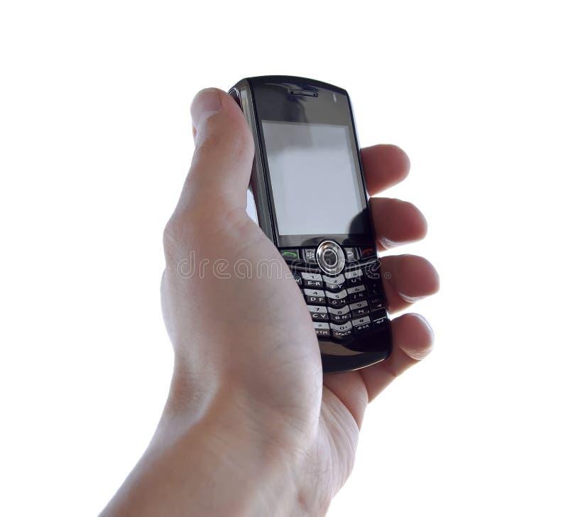 χέρι κινητών τηλεφώνων στοκ φωτογραφίες με δικαίωμα ελεύθερης χρήσης