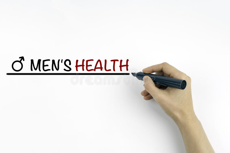 Χέρι με το δείκτη που γράφει το κείμενο - υγεία των ατόμων στοκ εικόνα με δικαίωμα ελεύθερης χρήσης