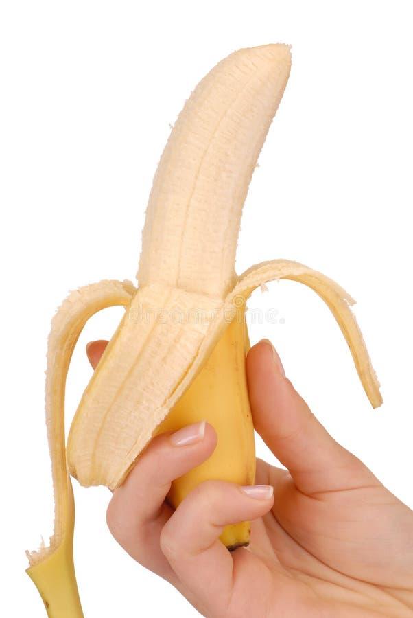 χέρι μπανανών στοκ φωτογραφίες με δικαίωμα ελεύθερης χρήσης